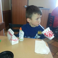 Photo taken at Chick-fil-A by Holly S. on 6/8/2013