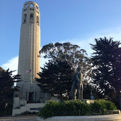 Photo taken at Coit Tower by Arnavik M. on 3/2/2013