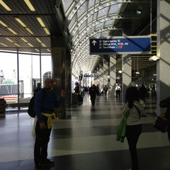 Photo taken at Terminal 3 Security Checkpoint by Maria Y. on 5/5/2013