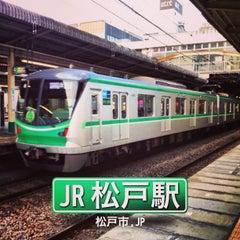 Photo taken at 松戸駅 (Matsudo Sta.) by Kazusan J. on 2/23/2013
