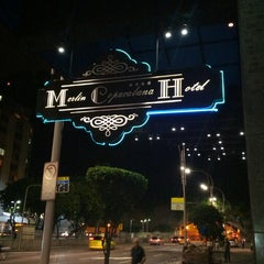 Photo taken at Merlin Copacabana Hotel by Watson K. on 3/21/2013