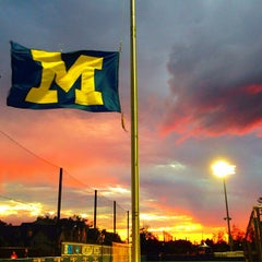 Photo taken at U-M Soccer Complex by Stanley S. on 9/12/2013