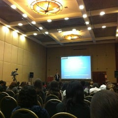 Photo taken at Sheraton São Paulo WTC Hotel by Fellipe S. on 10/17/2012