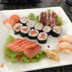Photo taken at Manga Sushi by Fialho R. on 12/22/2012