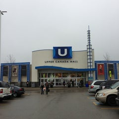 Photo taken at Upper Canada Mall by KittyGinaMeow S. on 1/13/2013