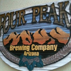 Photo taken at Four Peaks Grill & Tap by Yoshi N. on 12/31/2012