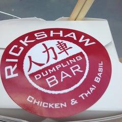 Photo taken at Rickshaw Dumpling Truck by AC on 7/30/2013