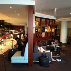 Photo taken at Etihad First Class Lounge by John on 12/19/2012
