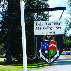 Photo taken at Delta Tau Delta by Andy L. on 9/24/2015
