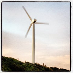 Photo taken at Wind Turbine by Woiwoi W. on 4/27/2013