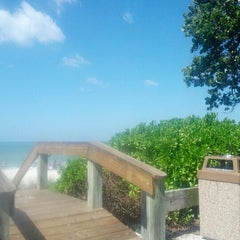 Photo taken at 13th Avenue South Beach by Bethany O. on 10/12/2012