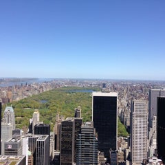 Photo taken at Top of The Rock Observation Deck by Cristian M. on 5/3/2013