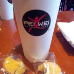 Photo taken at Pei Wei by Melvin V. on 11/30/2012