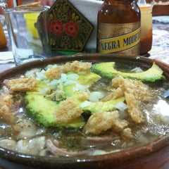 Photo taken at Pozole Casa Licha by Edgar M. on 9/29/2012