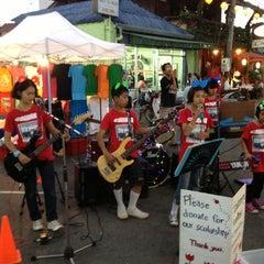 Photo taken at ถนนคนเดิน แม่ฮ่องสอน by Meaw C. on 1/26/2013