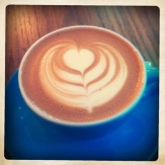 Photo taken at Prufrock Coffee by Rob M. on 10/23/2012