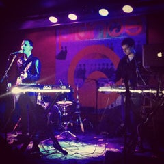 Photo taken at Pianos by Jasmine M. on 2/3/2013