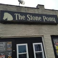 Photo taken at The Stone Pony by Amanda P. on 2/28/2013