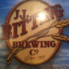 Photo taken at J.J. Bitting Brewing Company by Tina F. on 7/5/2013