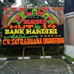 Photo taken at Bank Mandiri KC Balai Kota by AlFirdian S. on 10/2/2012