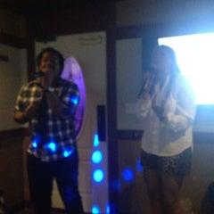 Photo taken at Family Karaoke by Melanie J. on 10/5/2014