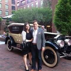 Photo taken at Four Seasons Hotel Washington DC by Spencer M. on 4/26/2013