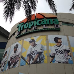 Photo taken at Tropicana Field by Tyler G. on 7/5/2013