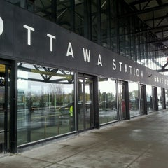 Photo taken at VIA Rail Ottawa by Saad S. on 2/25/2013