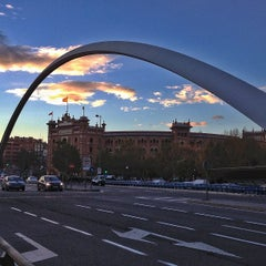 Photo taken at Puente de Ventas by Antonio J. on 11/28/2012
