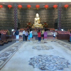 Photo taken at Fo Guang Shan Temple   北岛佛光山 by Kelly Q. on 2/10/2013