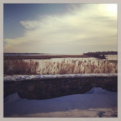 Photo taken at Founders Memorial Park by Jill B. on 1/2/2013
