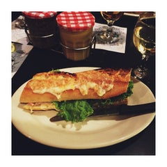 Photo taken at Gaulart & Maliclet French Café Fast and French Inc. by Scott W. on 7/2/2015