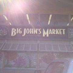 Photo taken at Big John's Market by m r. on 4/14/2013