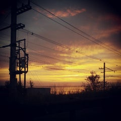 Photo taken at Raritan Bay Waterfront Park by Andrew B. on 10/15/2012
