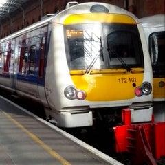Photo taken at Platform 1 by Geoff L. on 9/27/2013