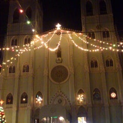 Photo taken at Minor Basilica of San Sebastian (Shrine of Our Lady Of Mount Carmel) by Ezekhiel s. on 12/18/2012