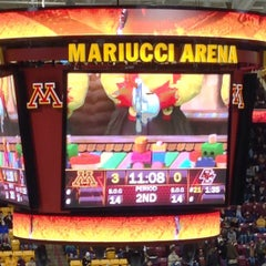 Photo taken at Mariucci Arena by Justin L. on 12/31/2012