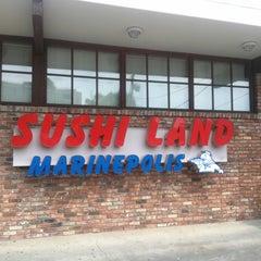 Photo taken at Marinepolis Sushi Land by MisterEastlake on 7/13/2014