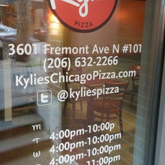 Photo taken at Kylie's Chicago Pizza by MisterEastlake on 8/29/2015