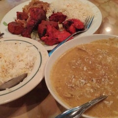 Photo taken at Moghul Palace India Cuisine by MisterEastlake on 4/19/2015