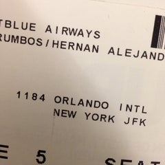 Photo taken at JetBlue Ticket Counter by Hernan A. on 2/8/2014