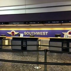Photo taken at Southwest Airlines Ticket Counter by kalashnikitty on 1/18/2013