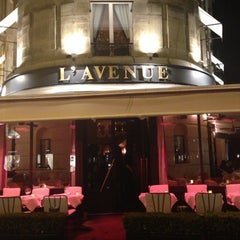 Photo taken at Avenue Montaigne by Mike on 11/10/2012