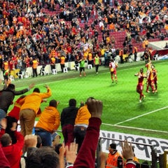 Photo taken at Türk Telekom Arena by Orhun D. on 11/1/2013