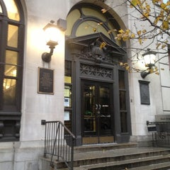 Photo taken at New York Public Library - 96th Street Library by Jess on 12/7/2012