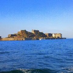 Photo taken at 端島 (軍艦島) Hashima (Gunkanjima) Island by すすす S. on 11/18/2012