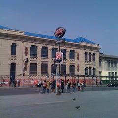 Photo taken at Metro Quinta Normal by Starkiller on 10/9/2012
