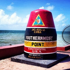 Photo taken at Southernmost Point Continental USA by Laasimi on 8/24/2013
