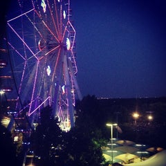 Photo taken at Texas Star Ferris Wheel by Candice K. on 7/5/2013