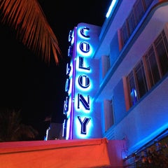 Photo taken at Colony Hotel by Débora V. on 2/9/2013